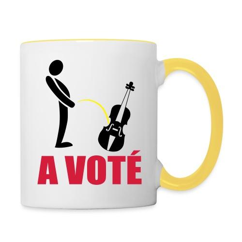A voté - Mug contrasté
