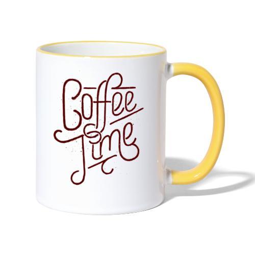 Mug Coffee time - Mug contrasté