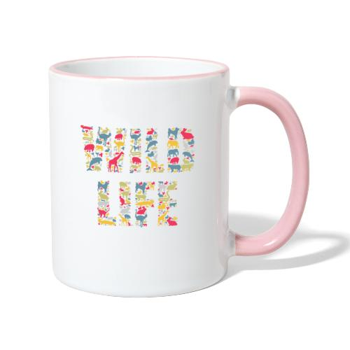 Wild Life - Tasse zweifarbig