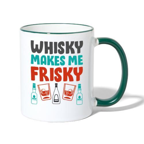 Whiskey Gift Idea - - Contrasting Mug
