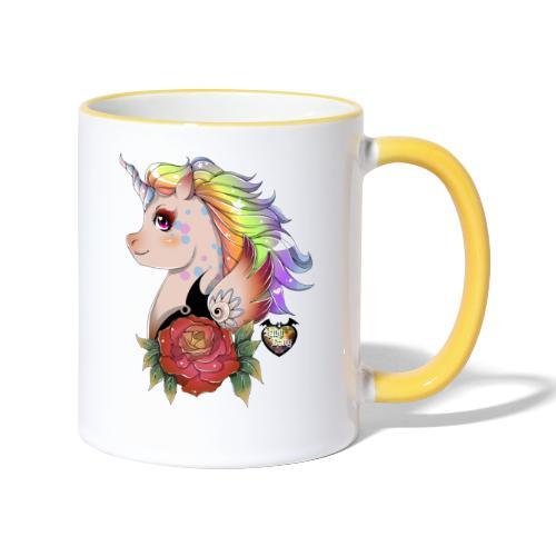licorne kawaii - Mug contrasté
