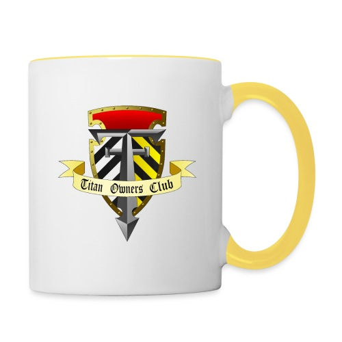 TOC Gothic Clear Background 1 - Contrasting Mug
