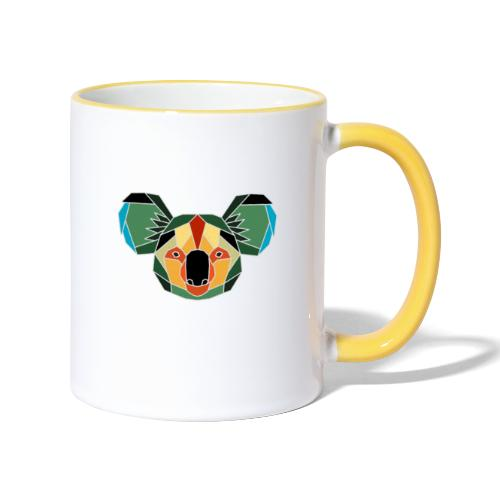 Koala Bären retten - Tasse zweifarbig