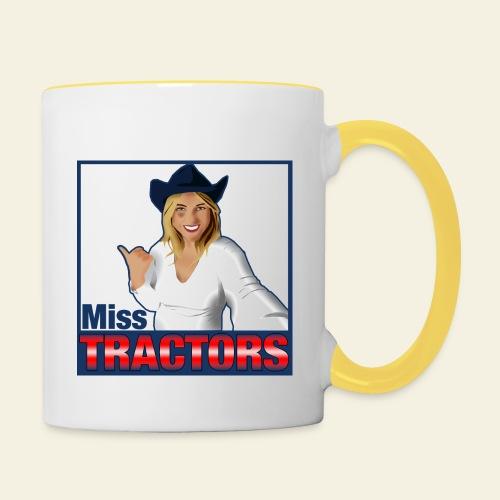 Miss Tractors Logo - Tazze bicolor