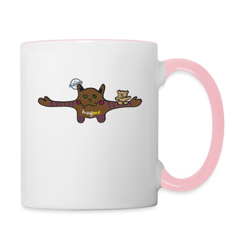 Hug me Monsters - Every little monster needs a hug - Contrasting Mug
