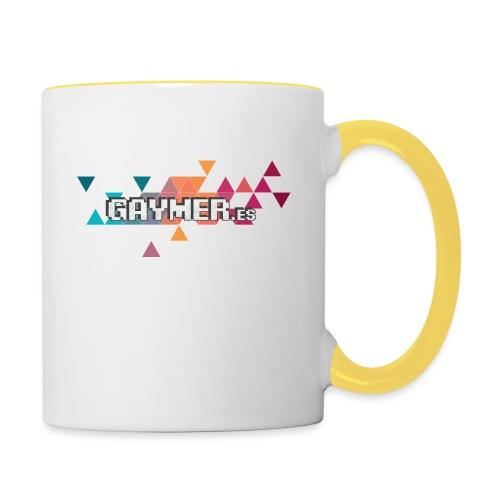 Logo Gaymer.es - Taza en dos colores