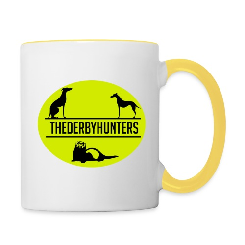 the derby hunters-yellow - Contrasting Mug