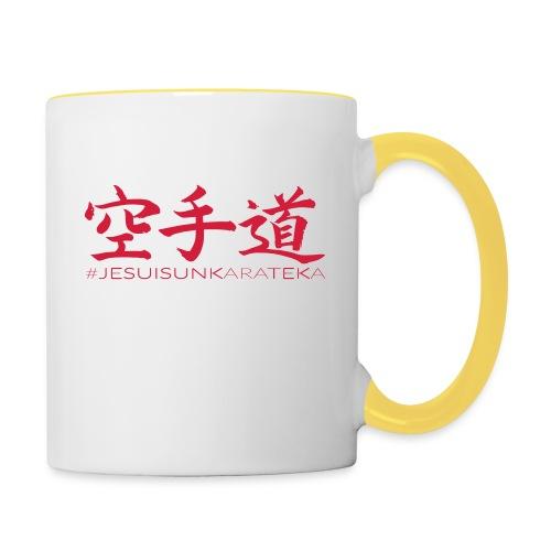 # Je suis un karateka - Mug contrasté
