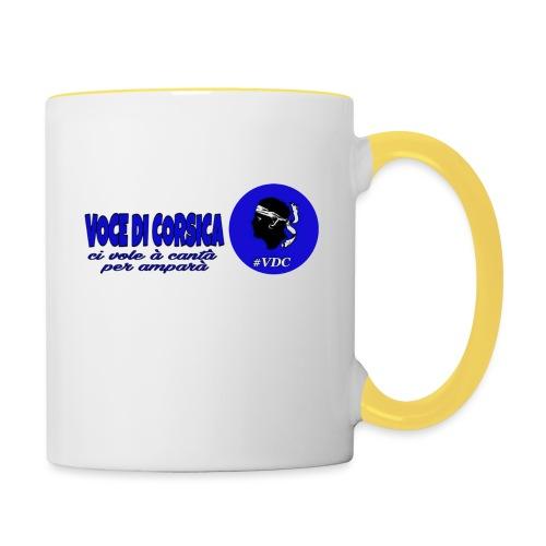 Voce di Corsica logo 1 - Mug contrasté