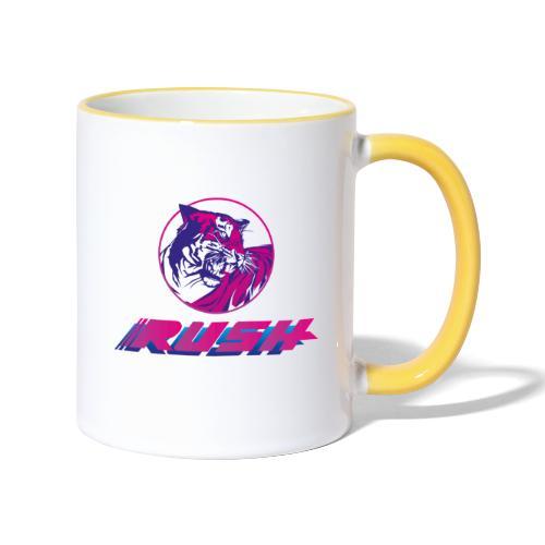Tiger RUSH II - Tasse zweifarbig