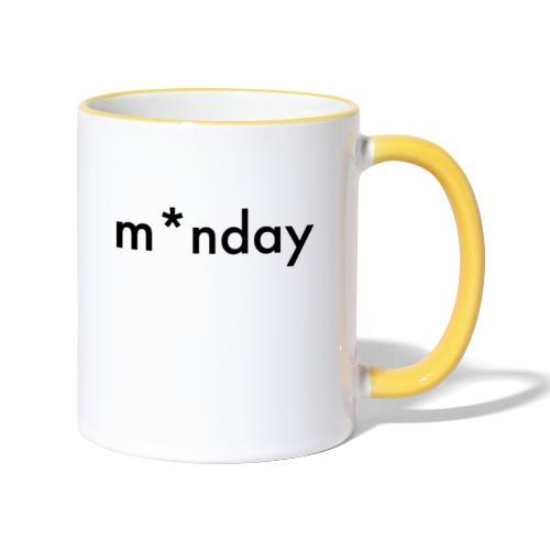 m*nday - Tofarvet krus