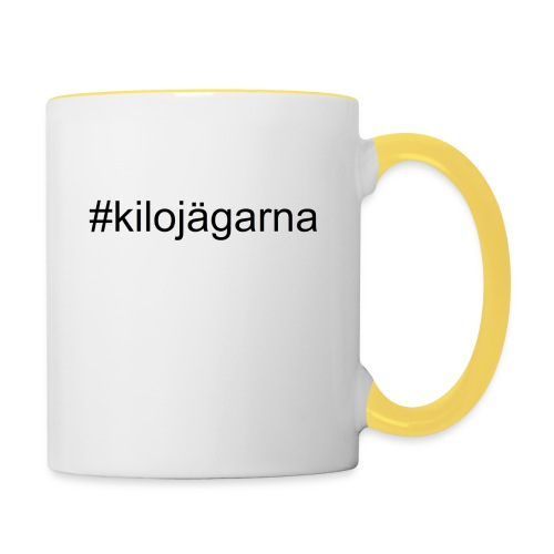 #kilo - Tvåfärgad mugg