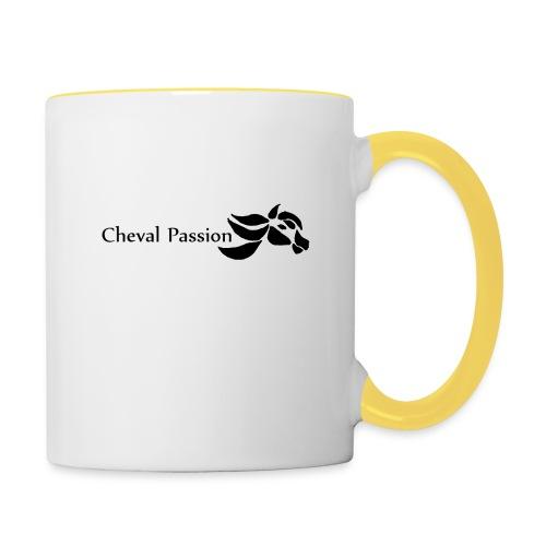 CHEVAL passion - Mug contrasté