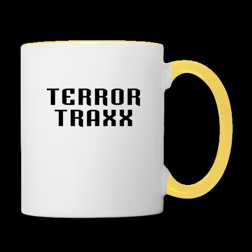 Terror Traxx - Contrasting Mug