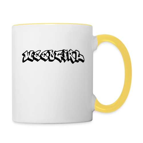 WEEDGIRL - Contrasting Mug