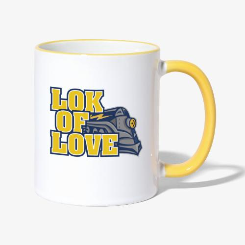 LOK OF LOVE 2 - Tasse zweifarbig