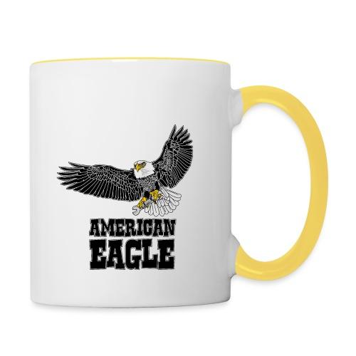 American eagle 2 - Mok tweekleurig