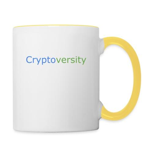 Cryptoversity Logo - Contrasting Mug