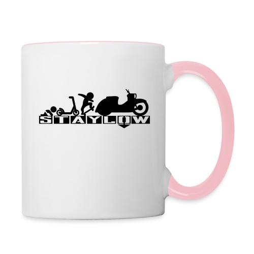 STAYLOW Skater - Tasse zweifarbig