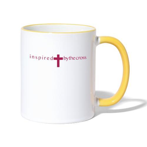 Inspired by the cross - Mug contrasté