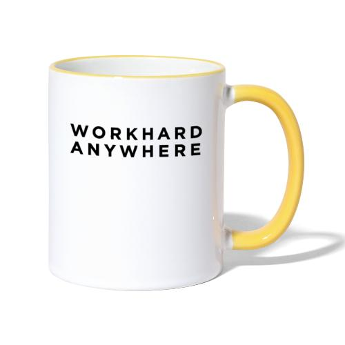 WORKHARD ANYWHERE - Tofarvet krus