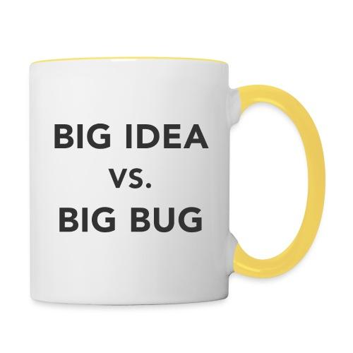 Big idea vs Big Bug - Taza en dos colores