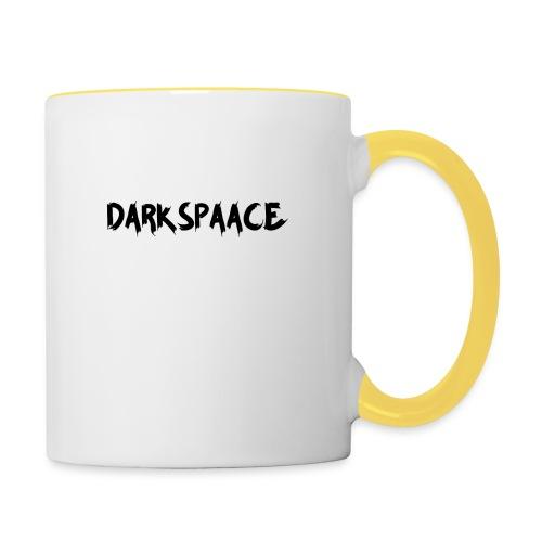 Habits & Accésoire - DarkSpaace Noir - Mug contrasté