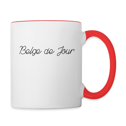 Belge de jour - Mug contrasté