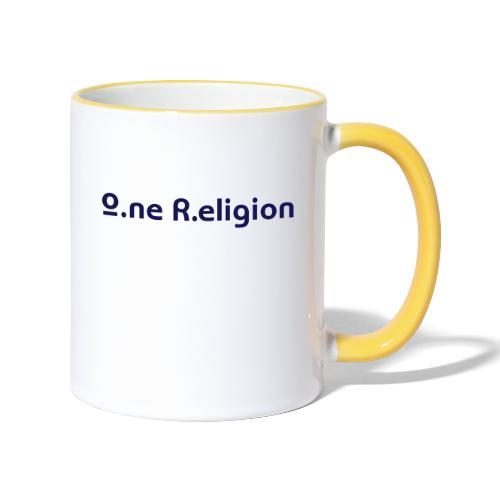 O.ne R.eligion Only - Mug contrasté