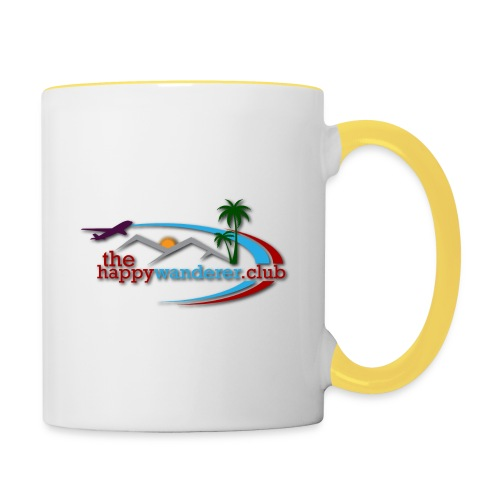 The Happy Wanderer Club Merchandise - Contrasting Mug