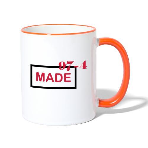 Design made in 974 - Mug contrasté