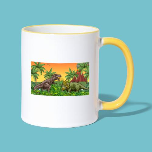 Cretaceous Showdown - Contrasting Mug