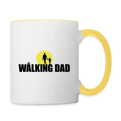 Fear The Walking Dad Sun - Contrasting Mug