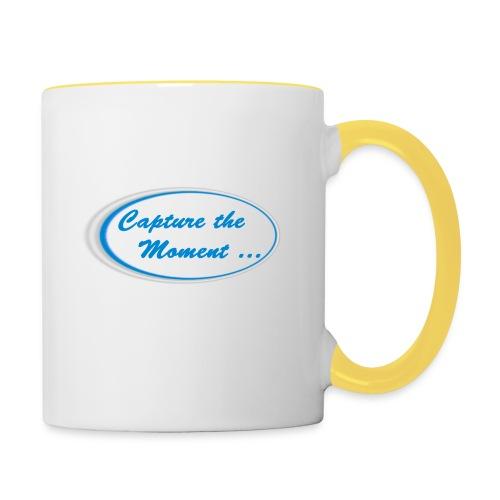 Logo capture the moment - Contrasting Mug