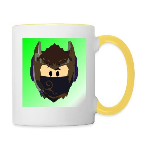 AN1MAYTRZ logo - Contrasting Mug