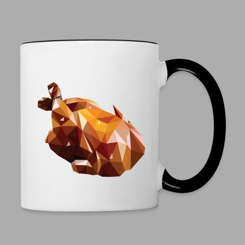 Turkey polyart - Contrasting Mug