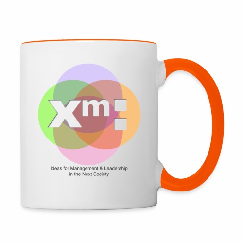 xm-institute Logo Edition - Tasse zweifarbig