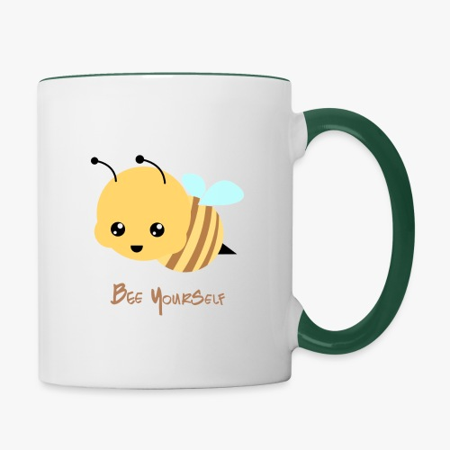 Bee Yourself - Tofarvet krus