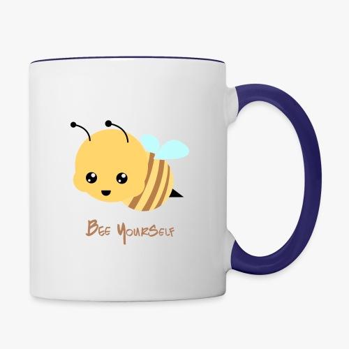 Bee Yourself - Tofarvet krus