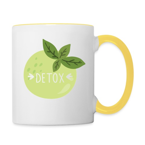 Detox green juice - Tazze bicolor