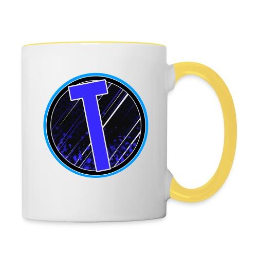 Truxer Old Logo Transparent - Contrasting Mug