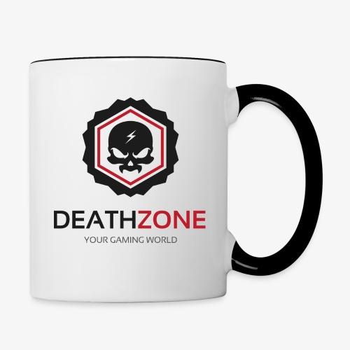 DeathZone Logo Avatar - Kubek dwukolorowy