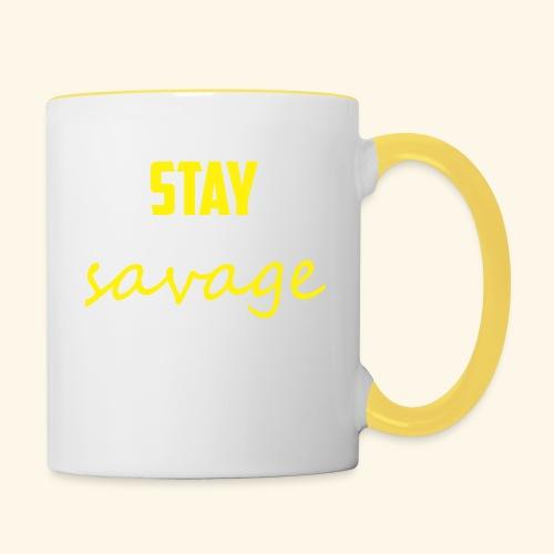 Stay Savage - Contrasting Mug