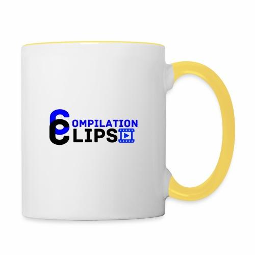 Official CompilationClips - Contrasting Mug