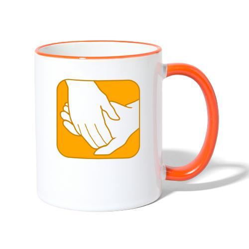 Logo der ÖRSG - Rett Syndrom Österreich - Tasse zweifarbig