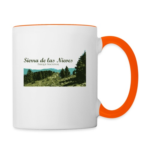 Sierra de las Nieves Parque Nacional - Taza en dos colores