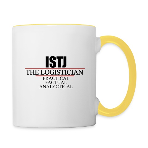 ISTJ - Tvåfärgad mugg