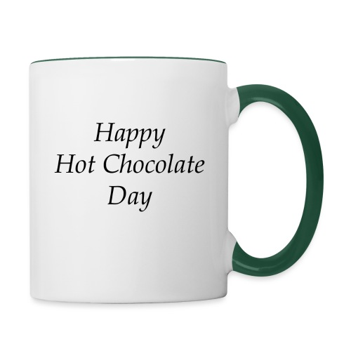 Hot Chocolate mug - Mok tweekleurig
