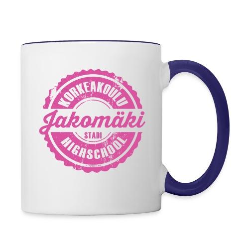 77P-JAKOMÄEN KORKEAKOULU - Stadi, Helsinki - Kaksivärinen muki