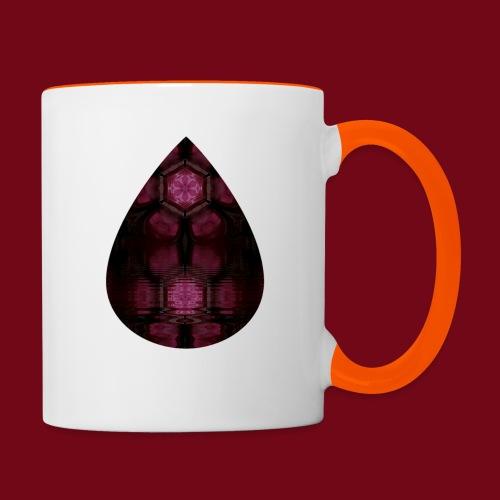 Tropfensee - Tasse zweifarbig